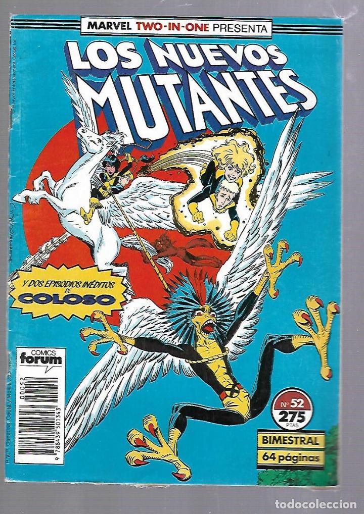 LOS NUEVOS MUTANTES. Nº 52. COMICS FORUM (Tebeos y Comics - Panini - Marvel Comic)