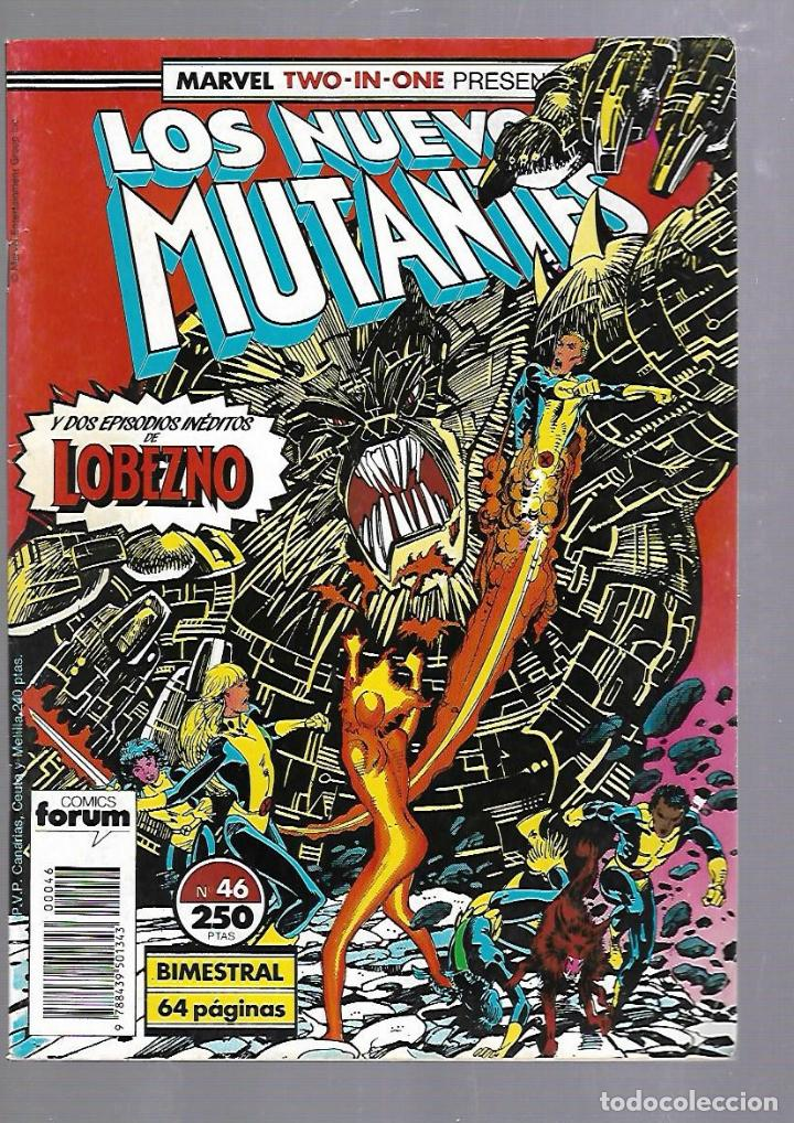 LOS NUEVOS MUTANTES. Nº 46. COMICS FORUM (Tebeos y Comics - Panini - Marvel Comic)