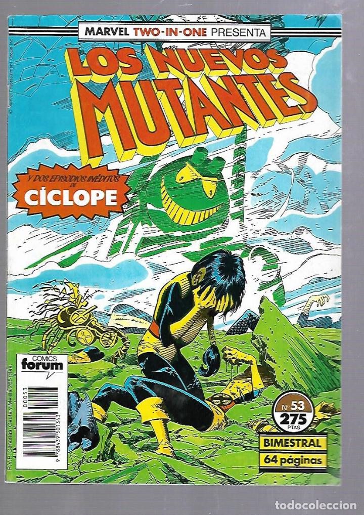 LOS NUEVOS MUTANTES. Nº 53. COMICS FORUM (Tebeos y Comics - Panini - Marvel Comic)