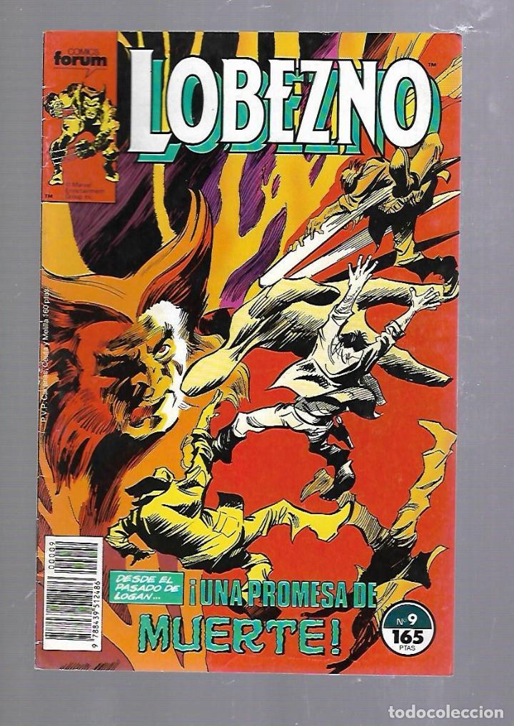 LOBEZNO. Nº 9. COMICS FORUM (Tebeos y Comics - Panini - Marvel Comic)