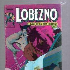 Cómics: LOBEZNO. Nº 12. COMICS FORUM. EL CASO DE LA JOYA GEHENNA CAP.2. Lote 89257700