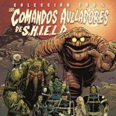 Cómics: LOS COMANDOS AULLADORES DE SHIELD. 100% MARVEL - BARBIERE - SCHOONOVER - FILARDI. Lote 89303408