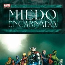 Cómics: MARVEL DELUXE MIEDO ENCARNADO INTEGRAL - MATT FRACTION STUART IMMONEN. Lote 89306728