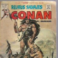 Cómics: TEBEO. RELATOS SALVAJES. CONAN EN BARBARO. VOL.1 - Nº 83. EL TESORO DE TRANICOS. Lote 114930926