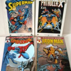 Cómics: SUPERMAN - PATRULLA X - IRON MAN –SPIDERMAN. Lote 90193724