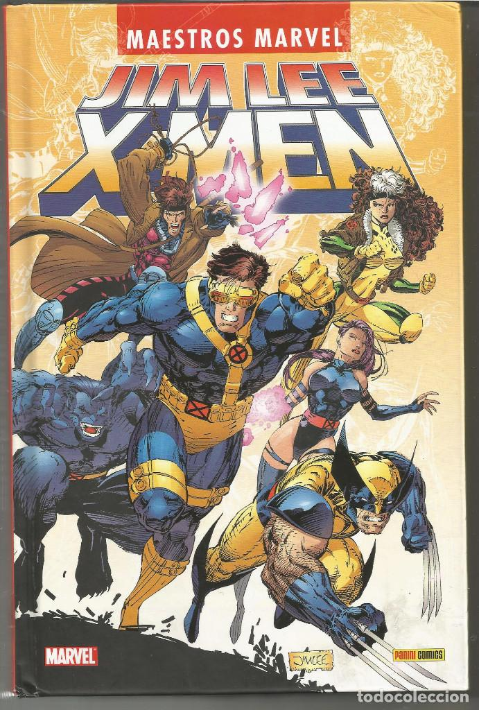 MAESTROS MARVEL. JIM LEE: X-MEN (Tebeos y Comics - Panini - Marvel Comic)