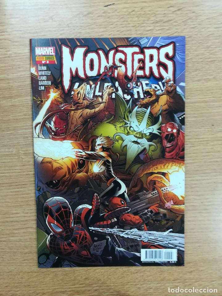 MONSTERS UNLEASHED #3 (Tebeos y Comics - Panini - Marvel Comic)