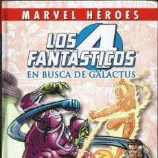 Cómics: LOS CUATRO FANTASTICOS: EN BUSCA DE GALACTUS. Lote 90675265