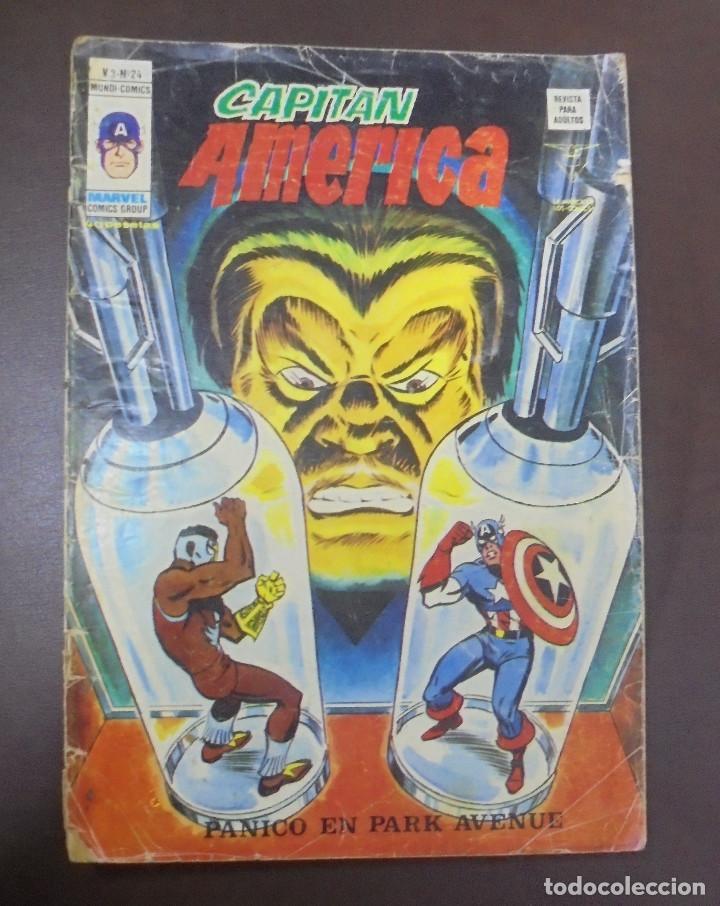 TEBEO. CAPITAN AMERICA. V.3 Nº 24. PANICO EN PARK AVENUE (Tebeos y Comics - Panini - Marvel Comic)