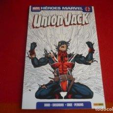 Cómics: UNION JACK ( RAAB CASSADAY CAGE PERKINS ) ¡MUY BUEN ESTADO! PANINI HEROES MARVEL. Lote 93072130