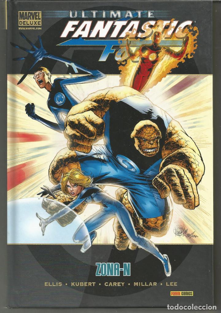 MARVEL DELUXE. ULTIMATE FANTASTIC FOUR 2 ZONA-N PANINI CÓMICS (Tebeos y Comics - Panini - Marvel Comic)