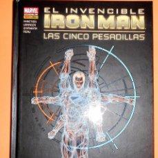 Cómics: IRON MAN. EL INVENCIBLE IRON MAN. LAS CINCO PESADILLAS. NOVELA GRAFICA. CARTONE. IMPECABLE.. Lote 93598510