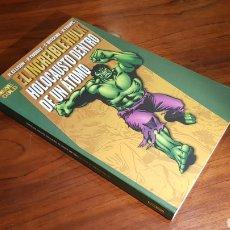 Comics : INCREIBLE HULK HOLOCAUSTO ATOMO EXCELENTE ESTADO PANINI GOLD. Lote 93787162