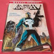 Cómics: MARVEL HEROES THE PUNISHER DIARIO DE GUERRA EXCELENTE ESTADO PANINI. Lote 108457143
