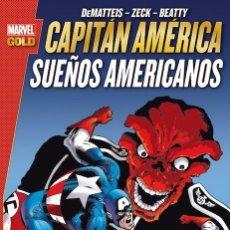 Cómics: MARVEL GOLD CAPITÁN AMÉRICA SUEÑOS AMERICANOS - TOMO PANINI RÚSTICA. Lote 94550427