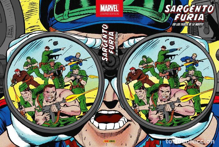 CÓMICS. MARVEL LIMITED EDITION. SARGENTO FURIA 2. ¡EN LAS FAUCES DE LA MUERTE! - STAN LEE/ (CARTONÉ) (Tebeos y Comics - Panini - Marvel Comic)