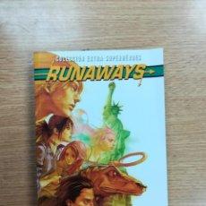 Cómics: RUNAWAYS #3 LOS BUENOS MUEREN JOVENES (EXTRA SUPERHEROES). Lote 94890639