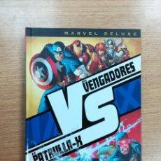 Cómics: VENGADORES VS PATRULLA X VS (MARVEL DELUXE). Lote 94891179