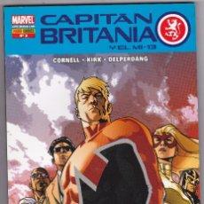 Cómics: CAPITAN BRITANIA Y EL MI-13 Nº 3 / MARVEL - PANINI. Lote 95226487