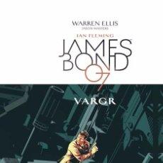 Cómics: JAMES BOND TOMO 1 VARGR - PANINI CARTONÉ - WARREN ELLIS JASON MASTERS. Lote 95259811