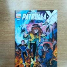 Cómics: NUEVA PATRULLA X #52 - PATRULLA X AZUL #1. Lote 95338703