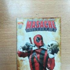 Cómics: MASACRE #18. Lote 95339007