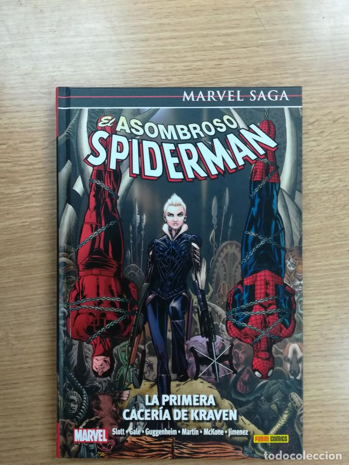 ASOMBROSO SPIDERMAN #16 LA PRIMERA CACERIA DE KRAVEN (MARVEL SAGA #36) (Tebeos y Comics - Panini - Marvel Comic)