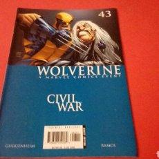 Cómics: WOLWERINE 43 CIVIL WAR EN BUEN ESTADO PANINI. Lote 95537400