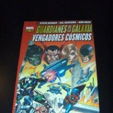 Cómics: GUARDIANES DE LA GALAXIA - VENGADORES CÓSMICOS - PANINI - MARVEL GOLD - STEVE GERBER - DEFENSORES. Lote 98496083