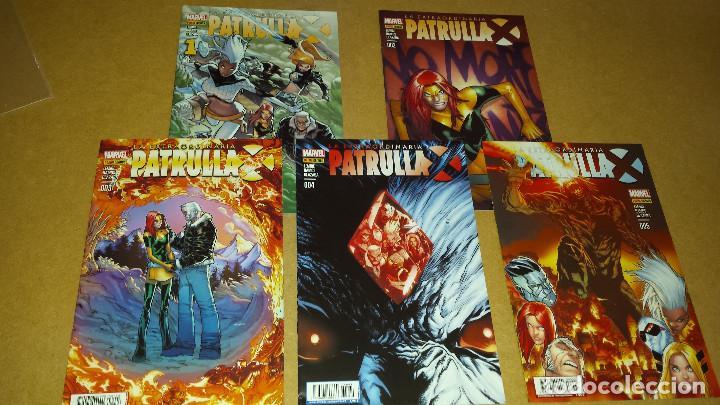 LA EXTRAORDINARIA PATRULLA X NºS 1 AL 5 - COMO NUEVOS - ARCO SANTUARIO COMPLETO - PANINI (Tebeos y Comics - Panini - Marvel Comic)