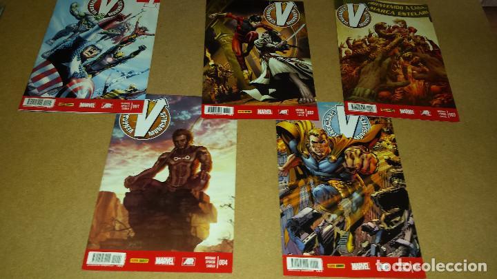 VENGADORES MUNDIALES DEL 1 AL 5 - PANINI - COMO NUEVOS (Tebeos y Comics - Panini - Marvel Comic)