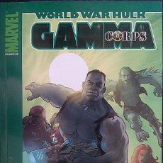 Cómics: WORLD WAR HULK : GAMMA CORPS DE TIERI & FERREIRA & FLOREA & QUINTANA MARVEL - PANINI COMICS. Lote 97574135