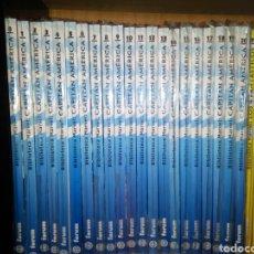Cómics: BIBLIOTECA MARVEL CAPITÁN AMÉRICA 21 NÚMEROS COLECCIÓN COMPLETA. Lote 97823620