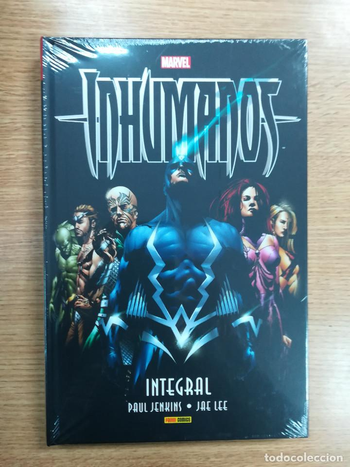 INHUMANOS DE PAUL JENKINS Y JAE LEE (MARVEL INTEGRAL) (Tebeos y Comics - Panini - Marvel Comic)