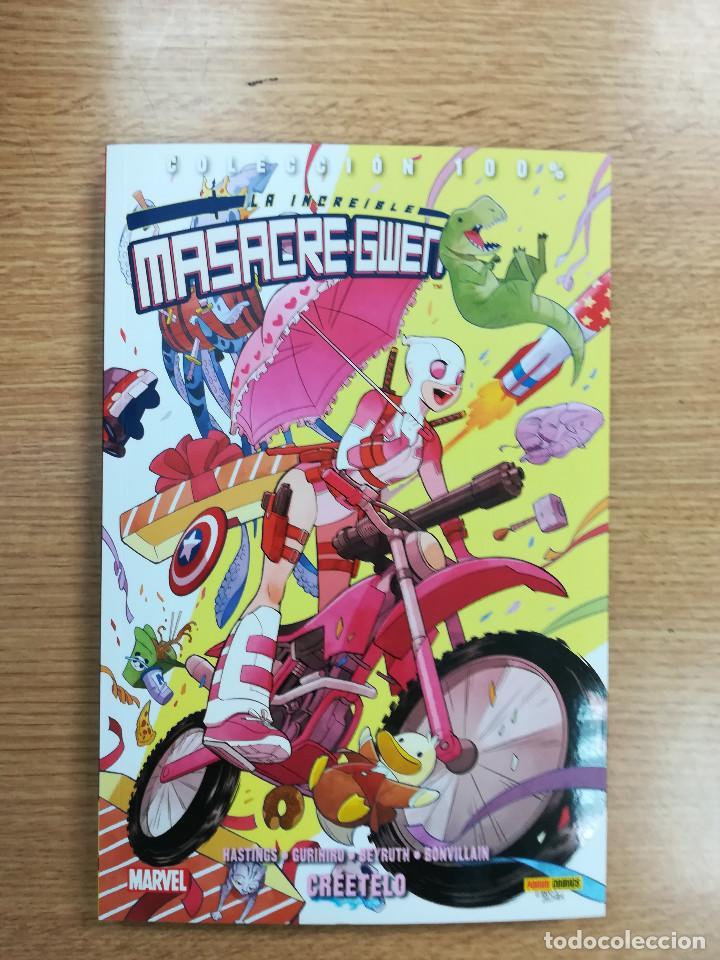 LA INCREIBLE MASACRE-GWEN #1 CREETELO (100% MARVEL) (Tebeos y Comics - Panini - Marvel Comic)