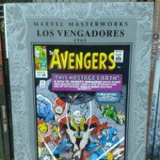 Cómics: MARVEL MASTERWORKS. LOS VENGADORES 2. AÑO 1965, DE STAN LEE Y JACK KIRBY. Lote 97964499