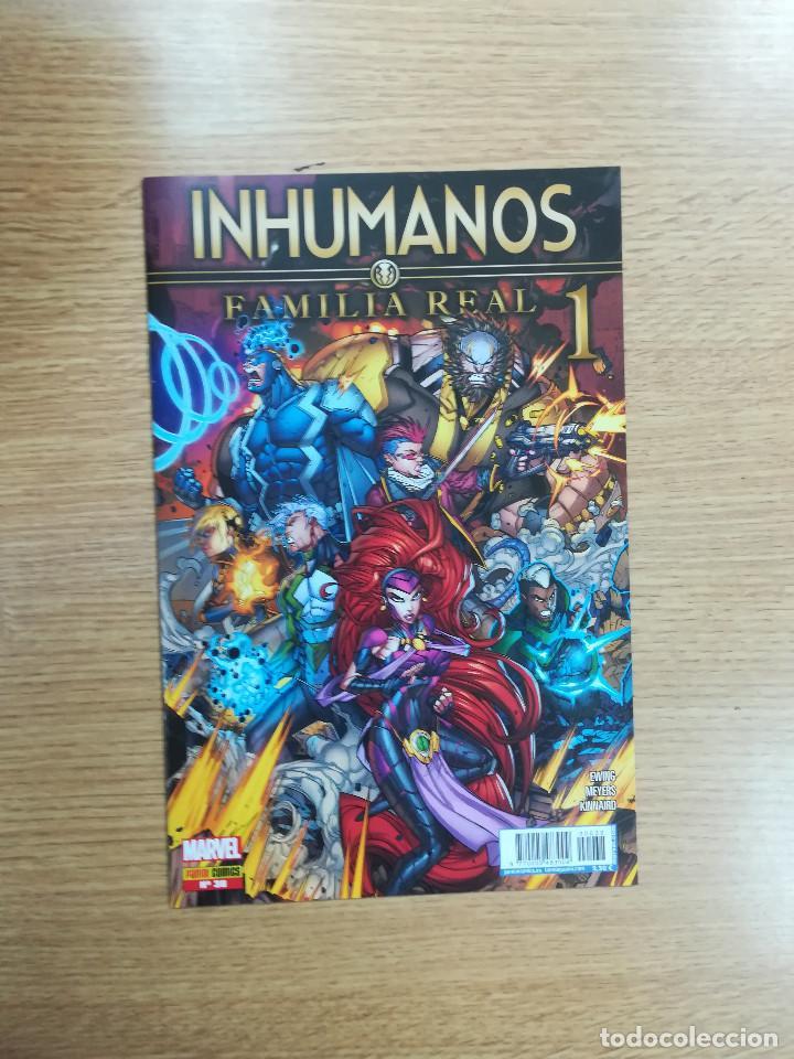 INHUMANOS #38 - FAMILIA REAL #1 (Tebeos y Comics - Panini - Marvel Comic)