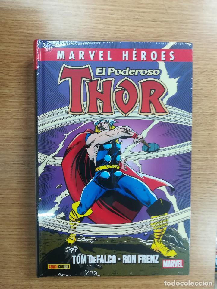 EL PODEROSO THOR DE TOM DEFALCO Y RON FRENZ #1 (MARVEL HEROES COLECCIONABLE #83) (Tebeos y Comics - Panini - Marvel Comic)