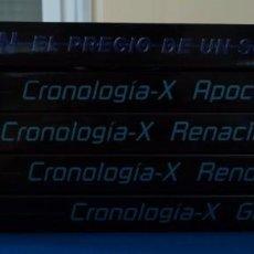 Cómics: CRONOLOGIA X COMPLETA 4 TOMOS Y EL PRECIO DE UN SUEÑO. Lote 97988039
