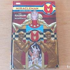 Cómics: MIRACLEMAN: LA EDAD DE ORO, DE PANINI COMICS (NEIL GAIMAN & MARK BUCKINGHAM). Lote 97990891