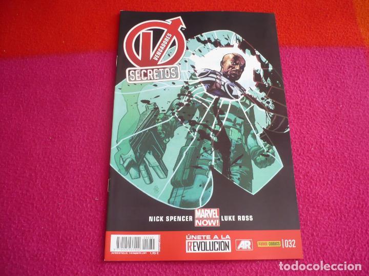 VENGADORES SECRETOS 32 ( NICK SPENCER LUKE ROSS ) ¡MUY BUEN ESTADO! PANINI MARVEL NOW (Tebeos y Comics - Panini - Marvel Comic)