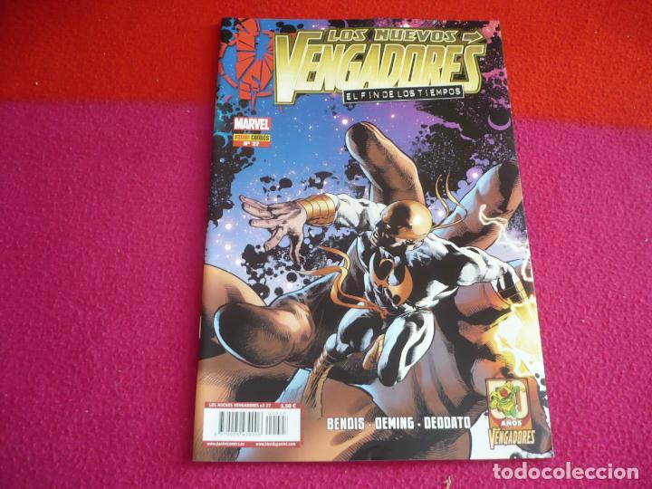 LOS NUEVOS VENGADORES VOL. 2 Nº 27 EL FIN DE LOS TIEMPOS ( BENDIS ) ¡MUY BUEN ESTADO! PANINI MARVEL (Tebeos y Comics - Panini - Marvel Comic)