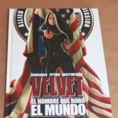 Cómics: VELVET - 3 EL HOMBRE QUE ROBÓ EL MUNDO - PANINI - NUEVO (PRECINTADO) . Lote 98200503