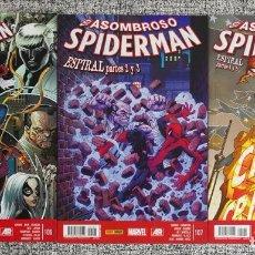Cómics: EL ASOMBROSO SPIDERMAN - Nº 106 - 107 -108 - ESPIRAL - PANINI - SNZBCN. Lote 98468711