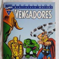 Cómics: BIBLIOTECA MARVEL EXCELSIOR - LOS VENGADORES Nº 1. Lote 99068243