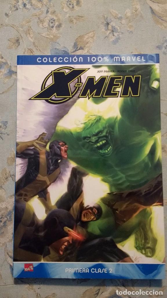 COLECCIÓN 100% MARVEL X-MEN PRIMERA CLASE TOMO 2, DE JEFF PARKER Y ROGER CRUZ (Tebeos y Comics - Panini - Marvel Comic)