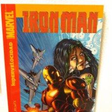 Cómics: IRON MAN -HIPERVELOCIDAD. Lote 99297919