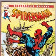 Cómics: BIBLIOTECA MARVEL SPIDERMAN TOMO Nº 34 PANINI. Lote 99568359