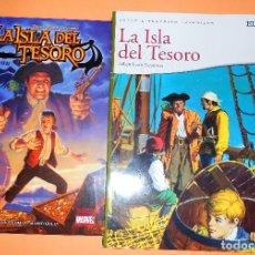 Cómics: LA ISLA DEL TESORO. MARVEL. IMPECABLE ESTADO Y LA VERSION DE JOYAS LITERARIAS DE REGALO.. Lote 99644835