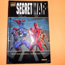 Cómics: SECRET WAR. BENDIS & DELL,OTTO. MARVEL DE LUXE. UN VOLUMEN IMPECABLE. Lote 99979831